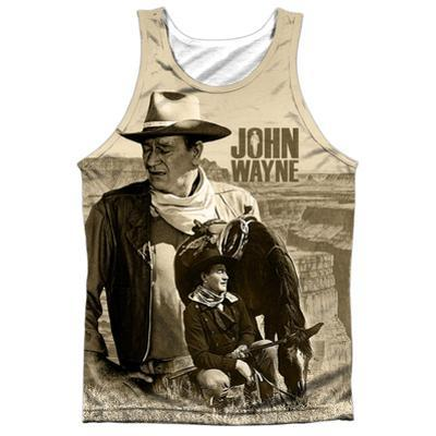 Tank Top: John Wayne- Stoic Cowboy