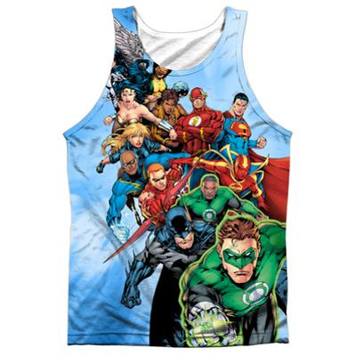Tank Top: Justice League- Hero Charge