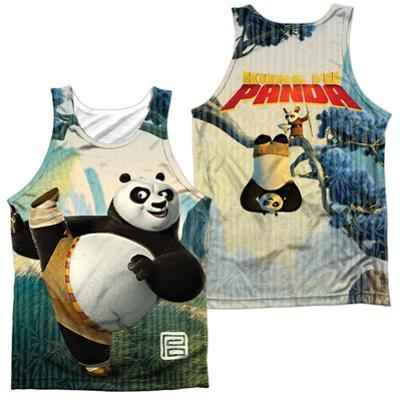 Tank Top: Kung Fu Panda- Training (Front/Back) (Front/Back)