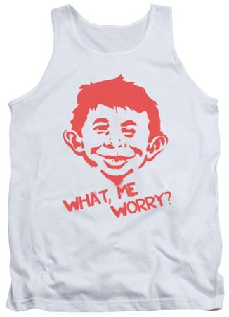 Tank Top: Mad Magazine - What Me Worry