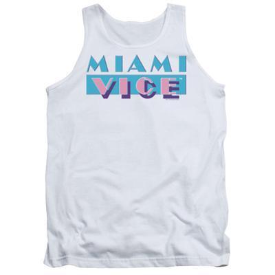 Tank Top: Miami Vice - Logo