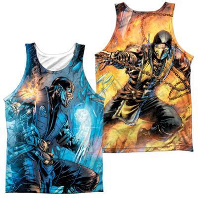 Tank Top: Mortal Kombat- Sub Zero Vs. Scorpion (Front/Back)
