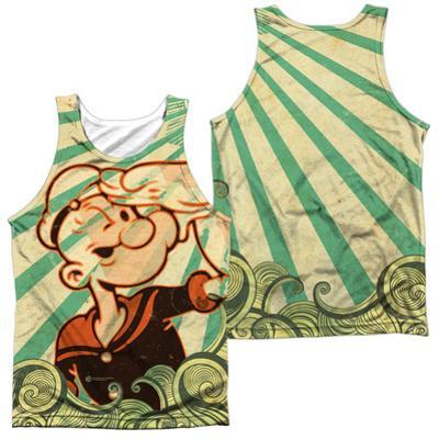 Tank Top: Popeye- Traveling Man (Front/Back)