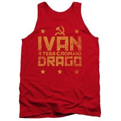 Tank Top: Rocky Iv/Ivan Drago Marquee