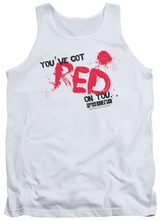 Tank Top: Shaun Of The Dead - Red On You