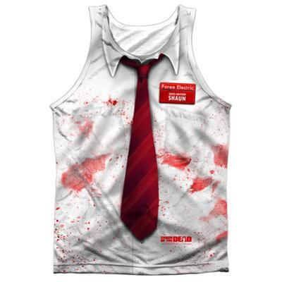Tank Top: Shawn Of The Dead- Bloody Shirt