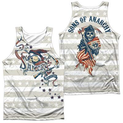 Tank Top: Sons Of Anarchy- Crow And Stars (Front/Back)