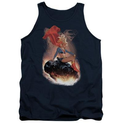 Tank Top: Supergirl- Cosmic Contemplation