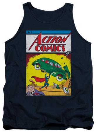 Tank Top: Superman - Action No. 1