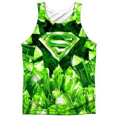 Tank Top: Superman- Kryptonite Shield