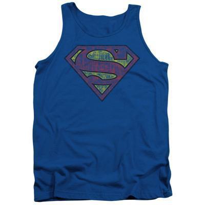 Tank Top: Superman - Tattered Shield