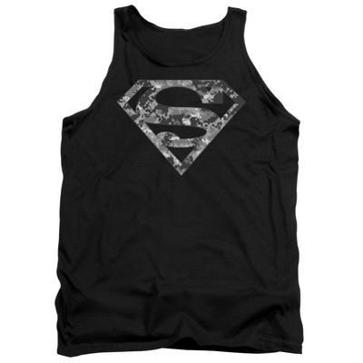 Tank Top: Superman - Urban Camo Shield