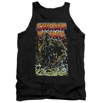 Tank Top: Swamp Thing- Green Hero