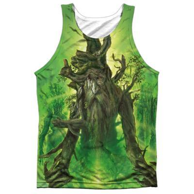 Tank Top: The Lord Of The Rings: The Return Of The King- Treebeard (Black Back)