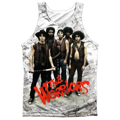 Tank Top: The Warriors- Pose Black Back