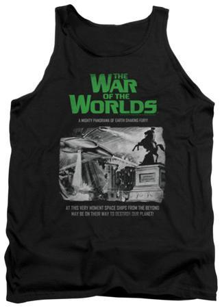 Tank Top: War Of The Worlds - Attack People Poster