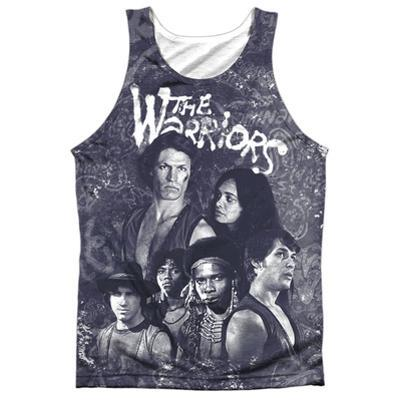 Tank Top: Warriors- Moody Streets