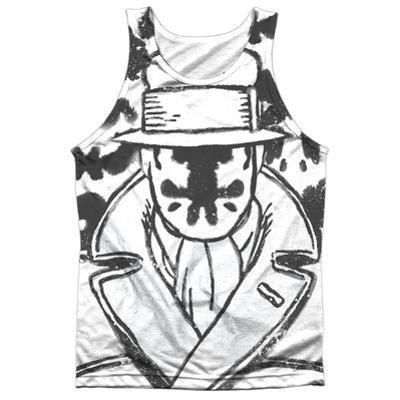 Tank Top: Watchmen- Rorschach