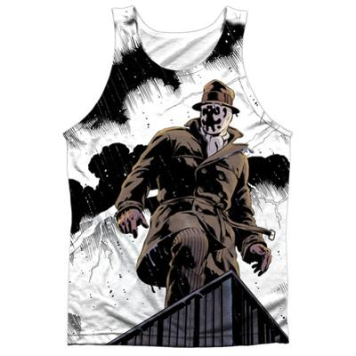 Tank Top: Watchmen- Stormy Black Back