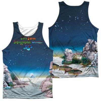Tank Top: Yes- Topographic Oceans (Front/Back)