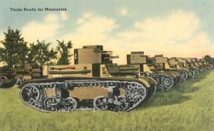 Tanks Ready for Maneuvers