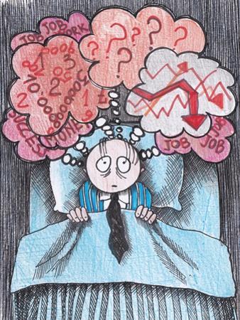 Insomnia of Businessman by tannene