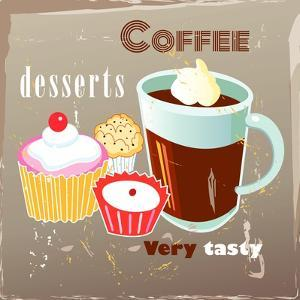 Coffee And Desserts by Tanor