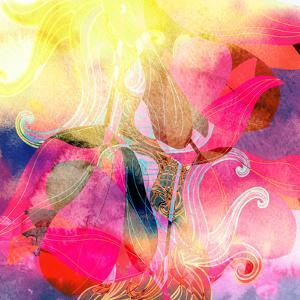 Abstract Watercolor Background by tanor27