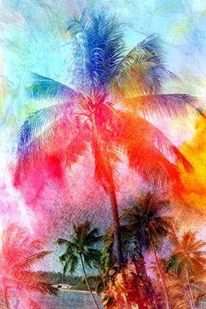 Beautiful Watercolor Palm Trees by tanor27