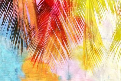 Watercolor Palm Leaf by tanor27