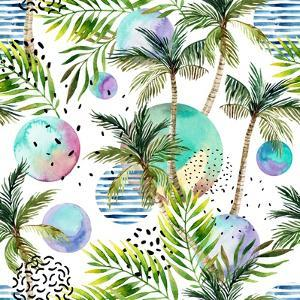 Abstract Summer Watercolor by tanycya