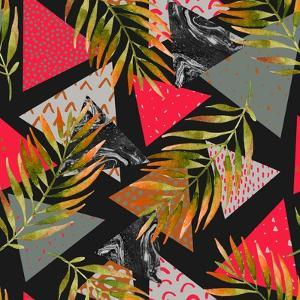 Triangles with Palm Tree Leaves by tanycya