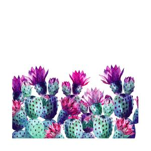 Watercolor Cactus by tanycya