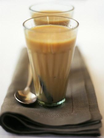 Two Glasses of Chai Tea