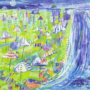 Coastal Fun Collage I by Tara Grim