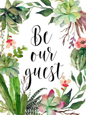 Be Our Guest Wreath by Tara Moss