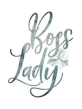 Bossy Lady Floral II by Tara Moss
