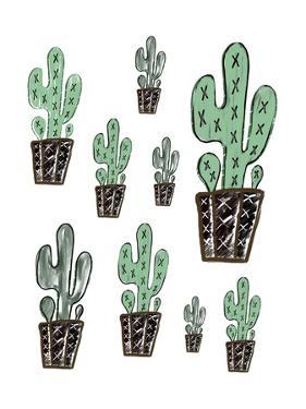 Cactus Collage by Tara Moss