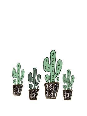 Cactus Set by Tara Moss