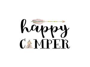Happy Camper I by Tara Moss