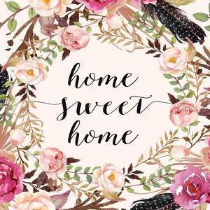 Home Sweet Home - Sq. by Tara Moss
