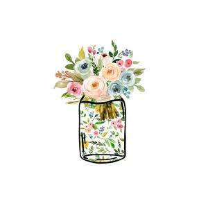 Mason Jar Bouquet by Tara Moss