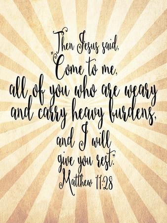 Matthew 11 28 Come to Me
