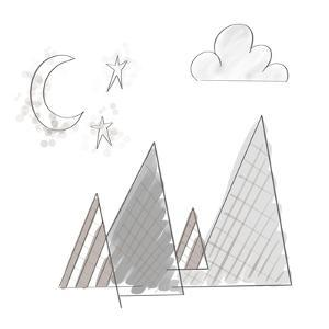 Moon and Mountains by Tara Moss