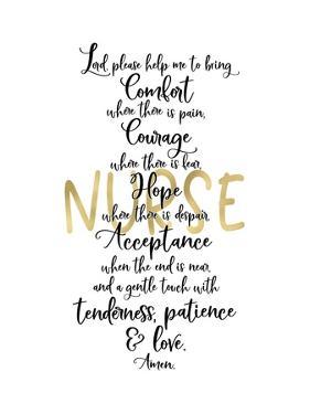 Nurse Prayer by Tara Moss
