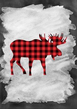 Plaid Moose by Tara Moss