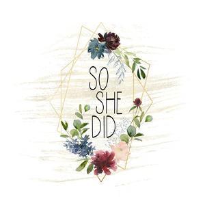 So She Did by Tara Moss