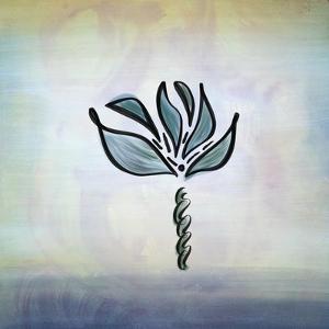 Watercolor Flower by Tara Moss