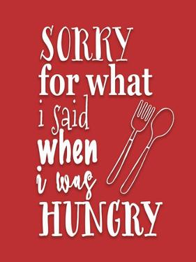 When I Was Hungry Red by Tara Moss