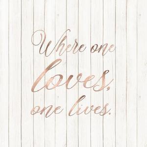 Where One Loves by Tara Moss